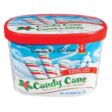 PC Candy Cane Chocolate Fudge Crackle Ice Cream reviews in Ice Cream