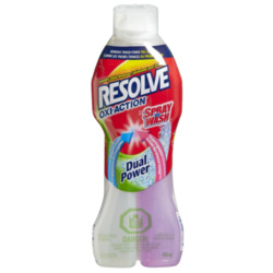 Resolve Oxi-Action Stain Action Dual Power