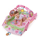 Bright Starts Pretty in Pink 5-in-1 Garden Fun Baby's Play Place Deluxe Edition