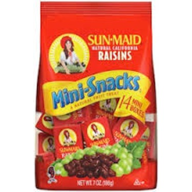 Sun-Maid Raisins Mini Snacks