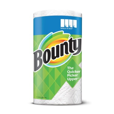 85a0343a264 Bounty Select A Size Paper Towels Reviews In Household Essentials