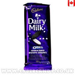 Cadbury Dairy Milk Oreo Cookie Crunch