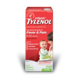 Infants' TYLENOL Fever & Pain Drops