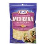 Kraft 3 Cheese Mexicana Mild Shredded Cheese