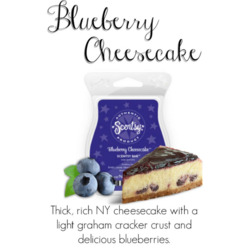 Scentsy Blueberry Cheesecake Scentsy Bar