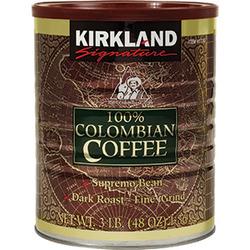 Kirkland Columbian coffee