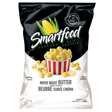 Smartfood Popcorn Movie Theater Butter Flavored Reviews In Snacks Familyrated
