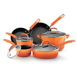 Rachael Ray 10 Piece Non-Stick Cookware