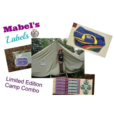 Mabel's Labels Limited Edition Camp Label Pack