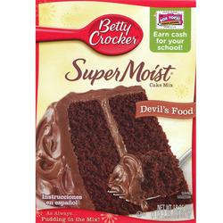 Betty Crocker Super Moist Cake Mix - Devil's Food