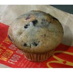 McDonald's Blueberry Muffin