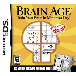 Brain Age Math DS Game
