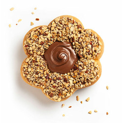 Tim Horton's Nutella Donut