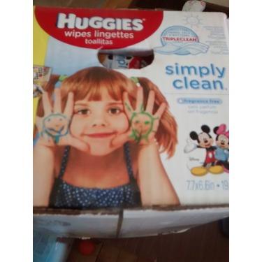 Huggies Simply Clean Wipes