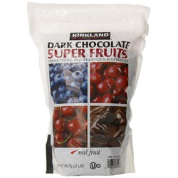 Kirkland Signature Dark Chocolate Super Fruits