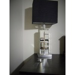 Park Madison Lighting Tall Beleved Glass Mirror Table Lamp