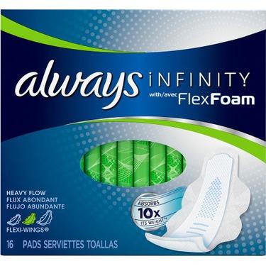 Always Infinity with Flex Foam