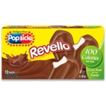 Popsicle Revello Chocolate Coated Frozen Dessert Bars