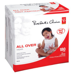 Presidents Choice All Over Wipes
