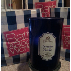 Bath & Body Works Lavender Vanilla Scented Candle