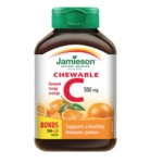 Jamieson Chewable Vitamin C in Natural Tangy Orange