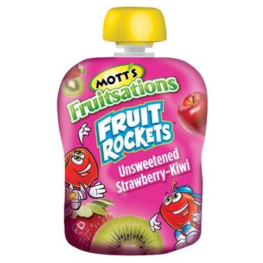 Mott's Fruitsations Fruit Rockets Unsweetened Strawberry-Kiwi