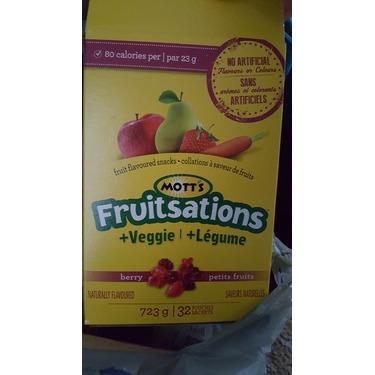 Mott's Fruitsations +Veggies Mixed Berry Carrot