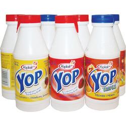 Yop drinkable yogurt