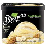 Breyers Double Churn Banana Cream Pie Frozen Dessert