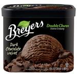 Breyer's Creamery Style Dark Chocolate Velvet Frozen Dessert