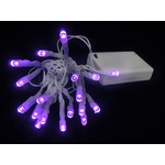 Purple Battery Operated Mini Lights