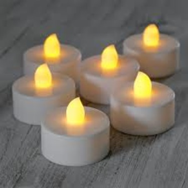 Battery Operated Tealight Candles