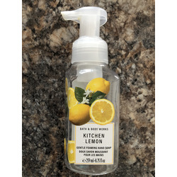 Bath & Body Works Kitchen Lemon Deep Cleansing Hand Soap