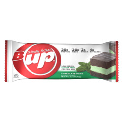 B-Up chocolate mint protein bar