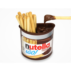 Nutella & GO! Hazelnut Spread and Breadsticks