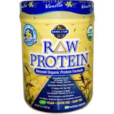 Garden Of Life Raw Protein Vanilla Reviews In Supplements