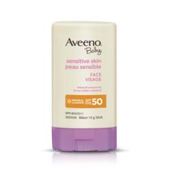 Aveeno Baby Sensitive Skin Face SPF 50 Stick