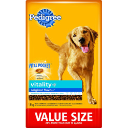 Pedigree Vitality Plus Original Dry Food for Dogs