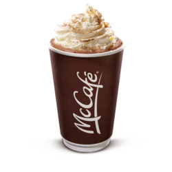 McDonald's McCafe Deluxe Hot Chocolate