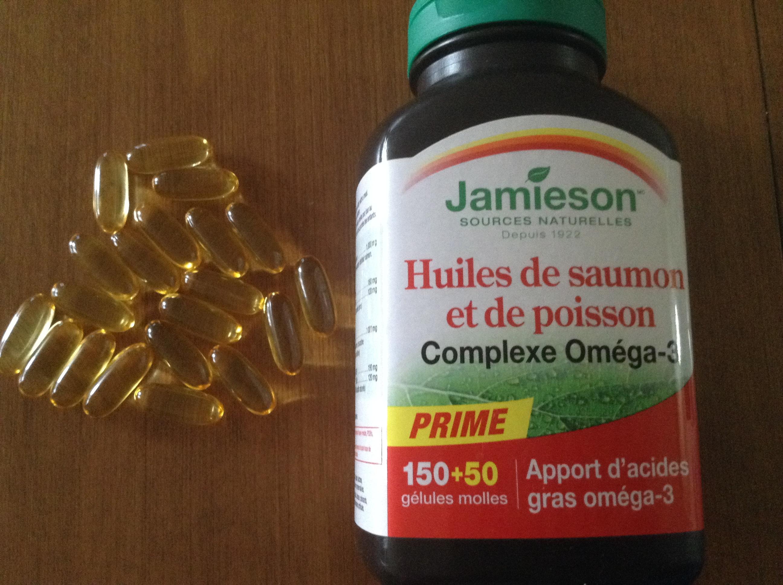 jamieson omega 3  Jamieson Salmon & Fish Oils Omega-3 Complex reviews in Vitamins ...