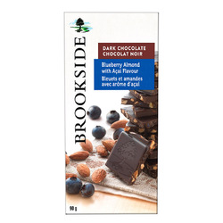 Brookside Chocolate Tablet Bar in Blueberry Almond with Açai Flavour
