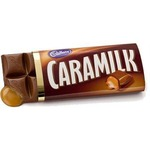 Cadbury caramilk chocolate bar