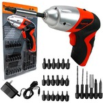 Stalwart 25-piece 4.8-Volt Cordless Screwdriver with LED