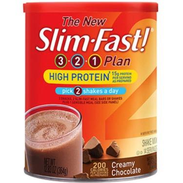 Slim Fast 3-2-1 plan High Protein Shake