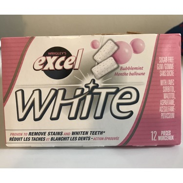 EXCEL WHITE BUBBLEMINT