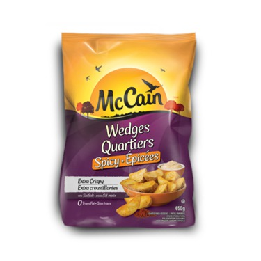 McCain Spicy Wedges