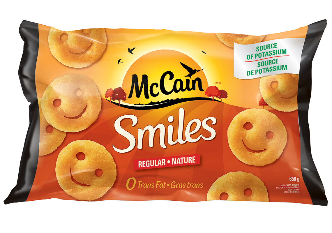 McCain Smiles reviews in Frozen Potatoes & French Fries