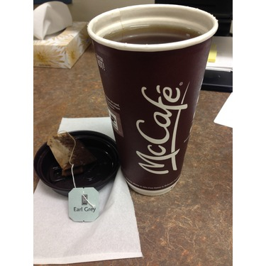 McDonald's Earl Grey Tea