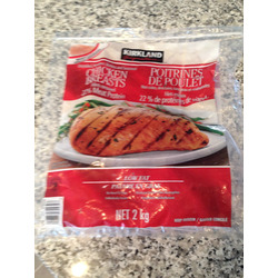 Kirkland Chicken Breasts- Frozen and Individually Wrapped