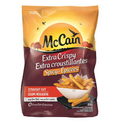 McCain Extra Crispy Spicy Straight Cut Fries